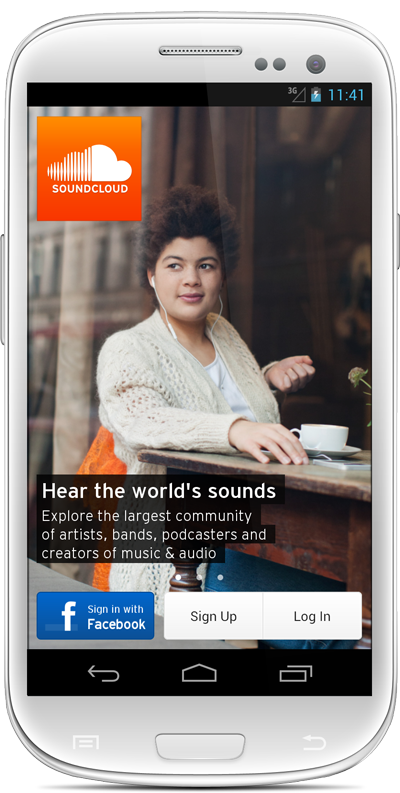 The new SoundCloud Android app